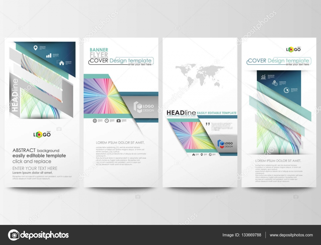 flyers set modern banners business templates cover template business templates cover template easy editable flat style