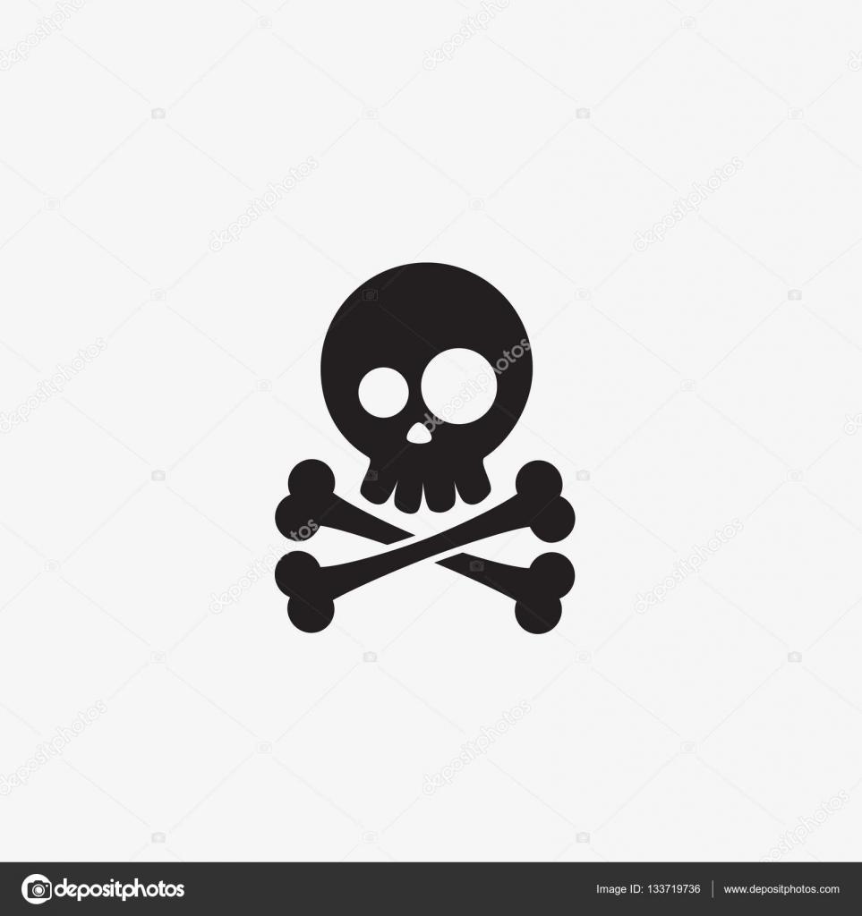 pirate skull and crossbones � stock vector 133719736