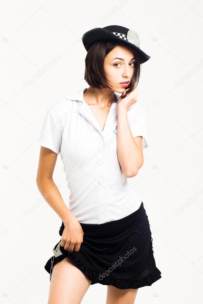 Милицейская юбка