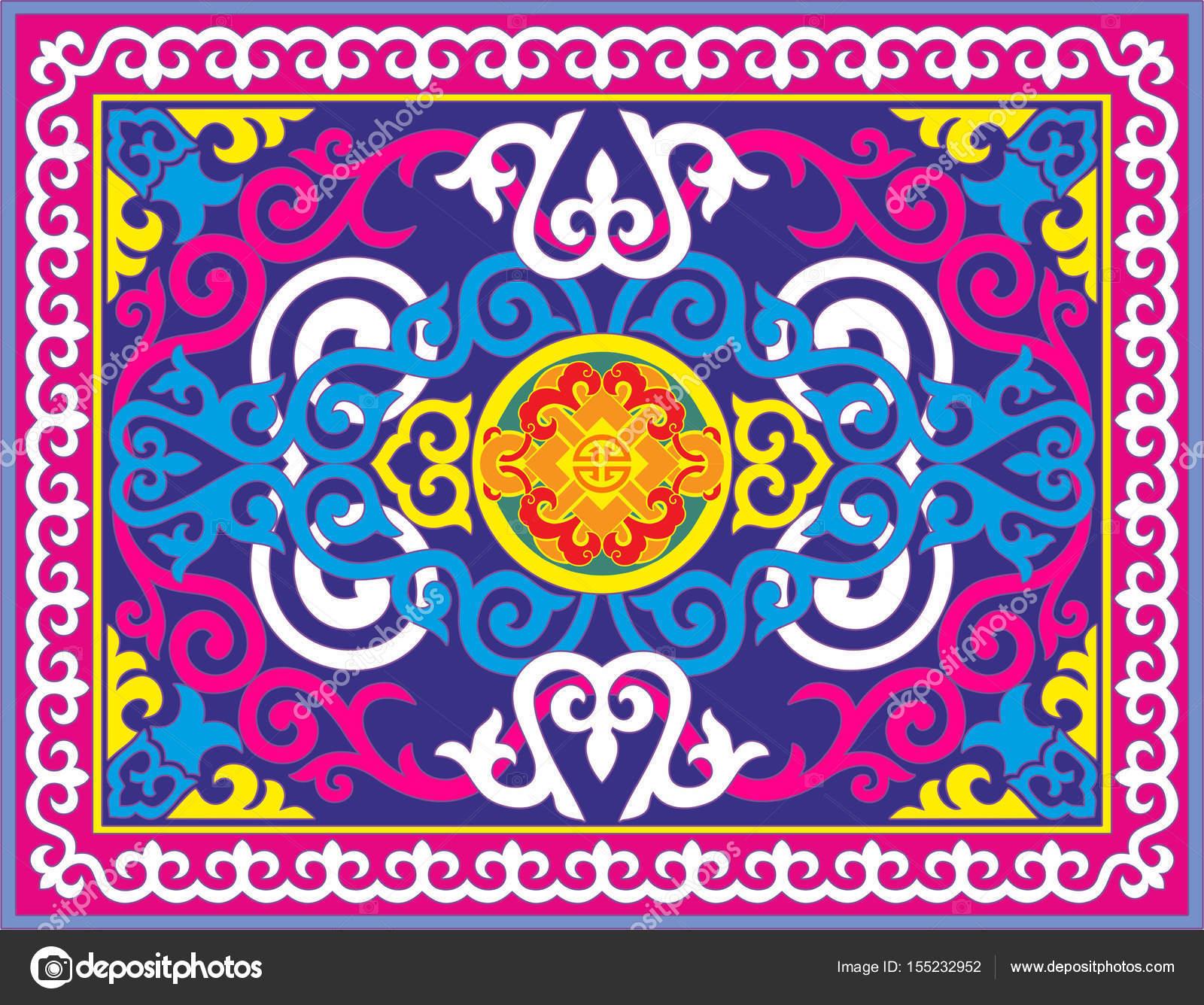 Казахские узоры и орнаменты фото