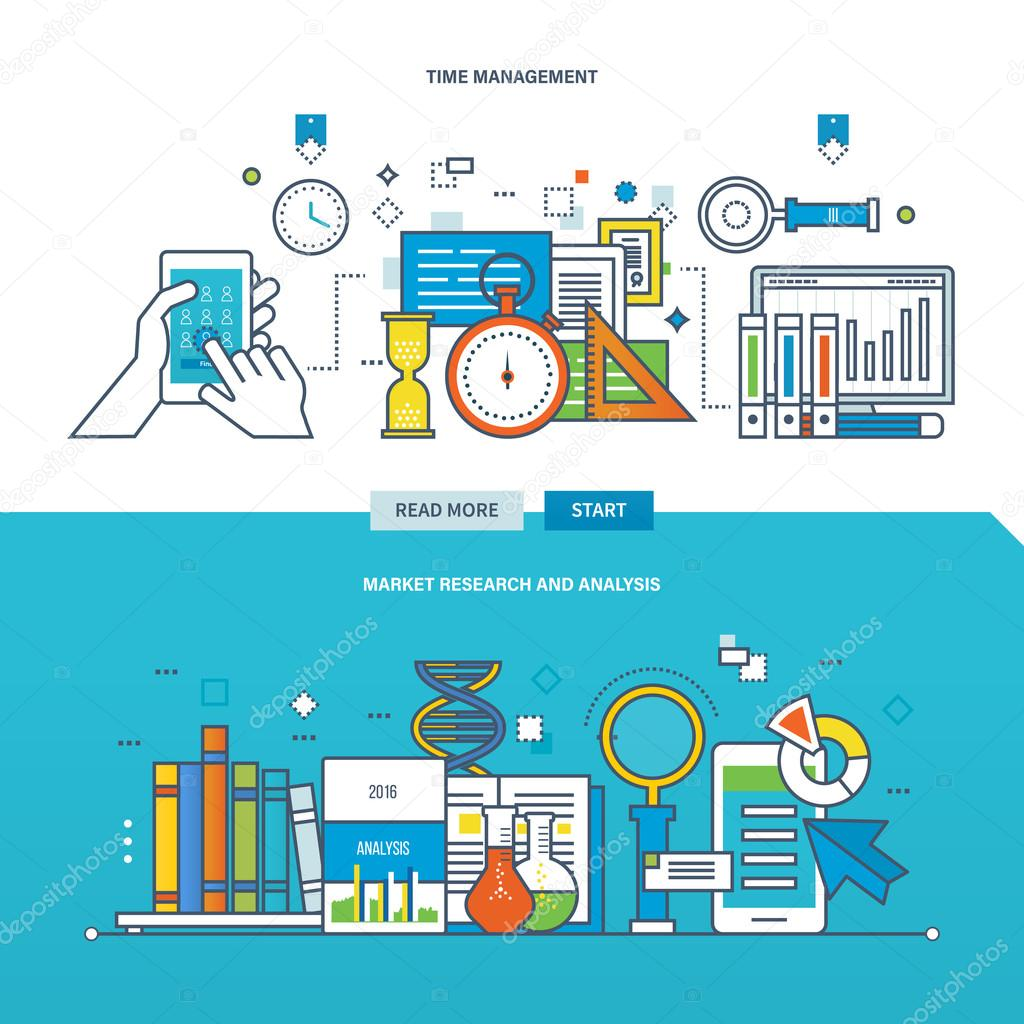 Concept Of Illustration The Analysis And Market Research Time Depositphotos  Stock Illustration Concept Of Illustration The Analysis Stock Illustration Concept Of Illustration The Analysis