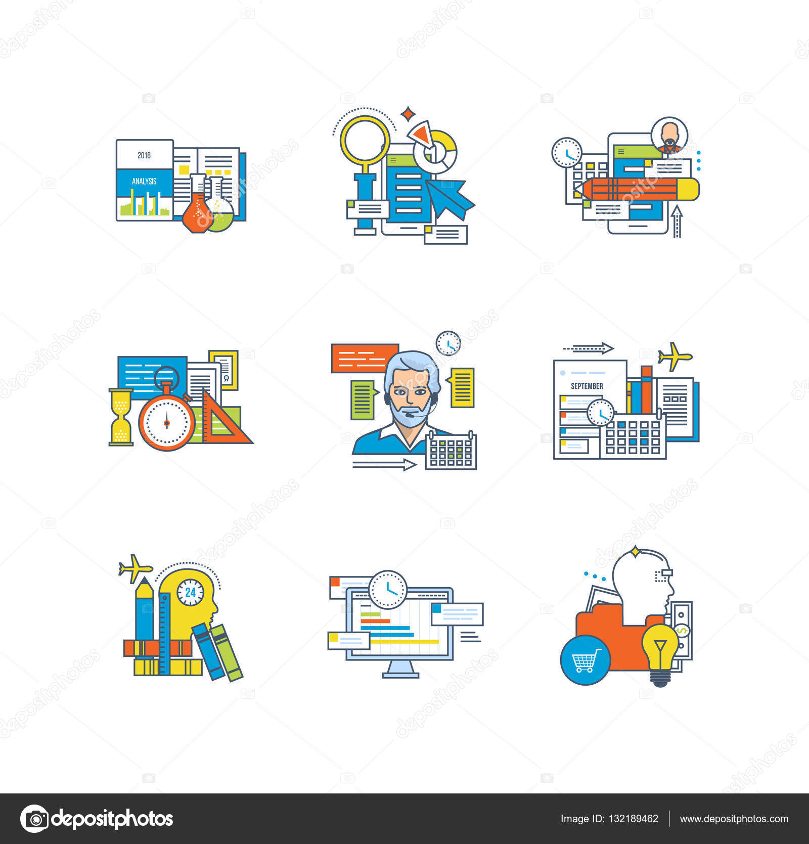 Statistics Education Research Planning Time Management Depositphotos  Stock Illustration Statistics Education Research Planning Time Stock Illustration Statistics Education Research Planning Time