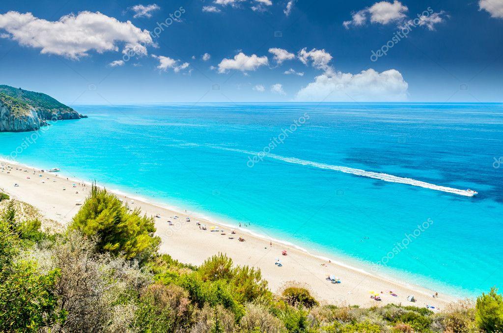 Песчаные пляжи в греции