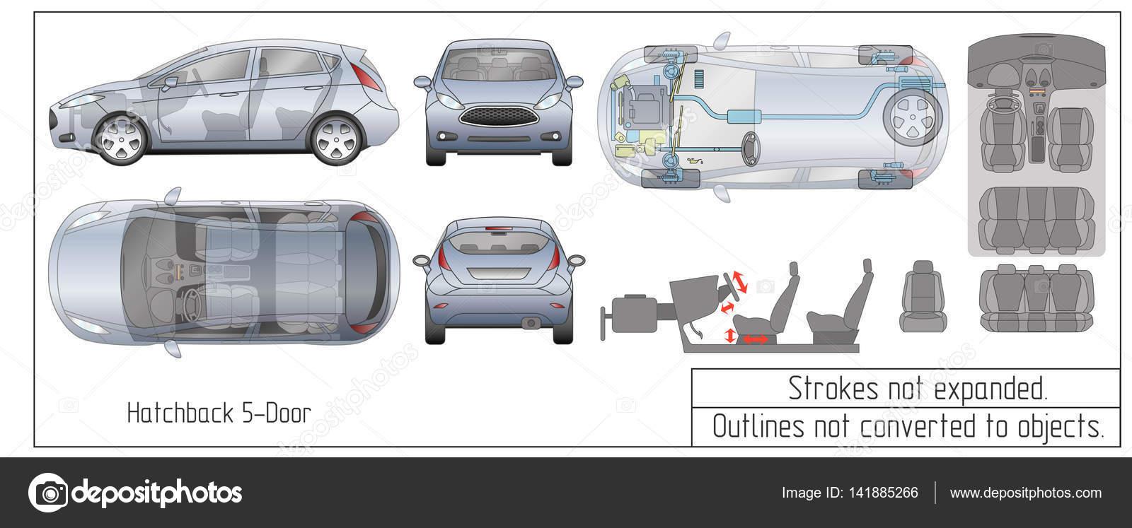 Perfect Car Interior Blueprints Ensign - Electrical Diagram Ideas ...