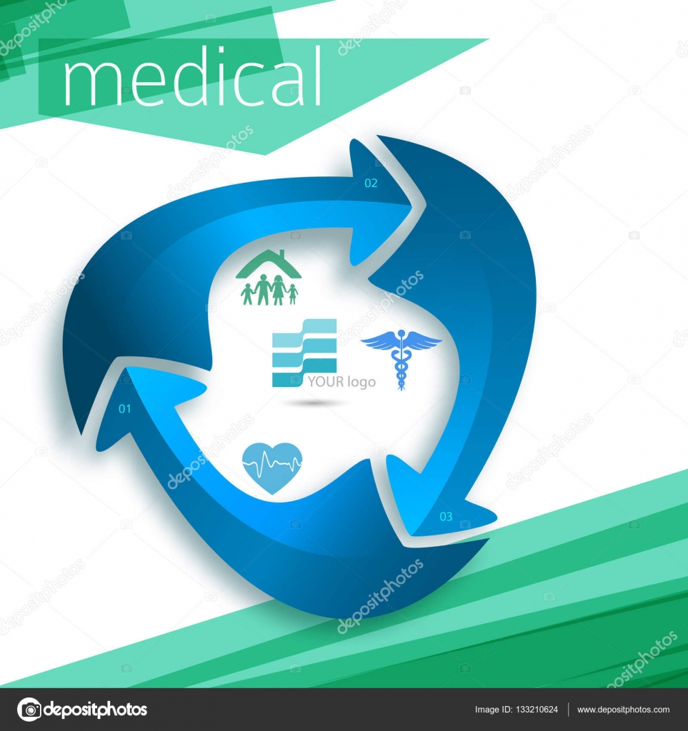 medicine cover page leaflet advertising report11 stock vector blue medical background abstract concept health care or medicine technology vector illustration eps 10 graphic design elements vertical banner