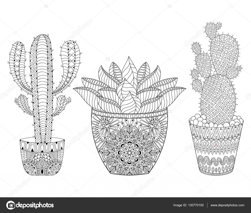 Mexico Animal Coloring Page