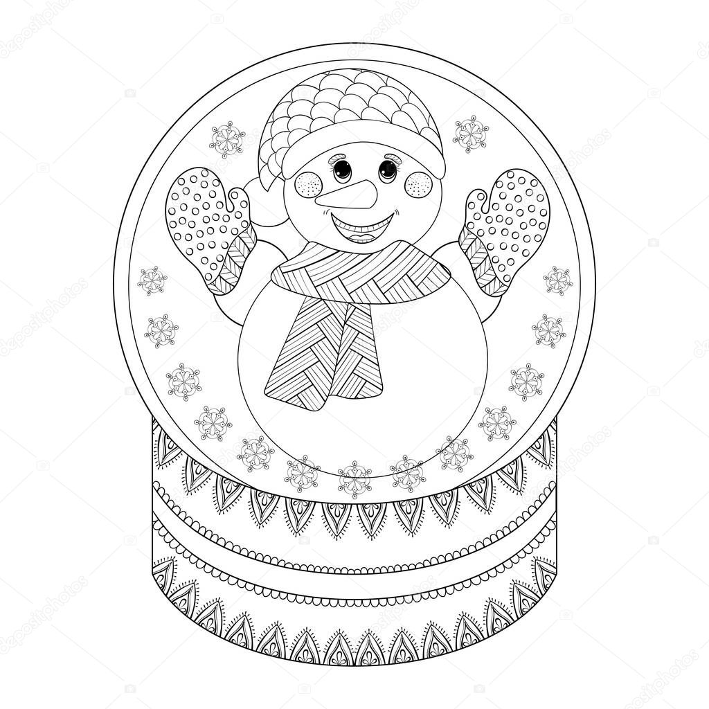 Zen colouring in book - Ch Childrens Colouring In Christmas Cards Christmas