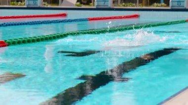 Professional Male Swimmer