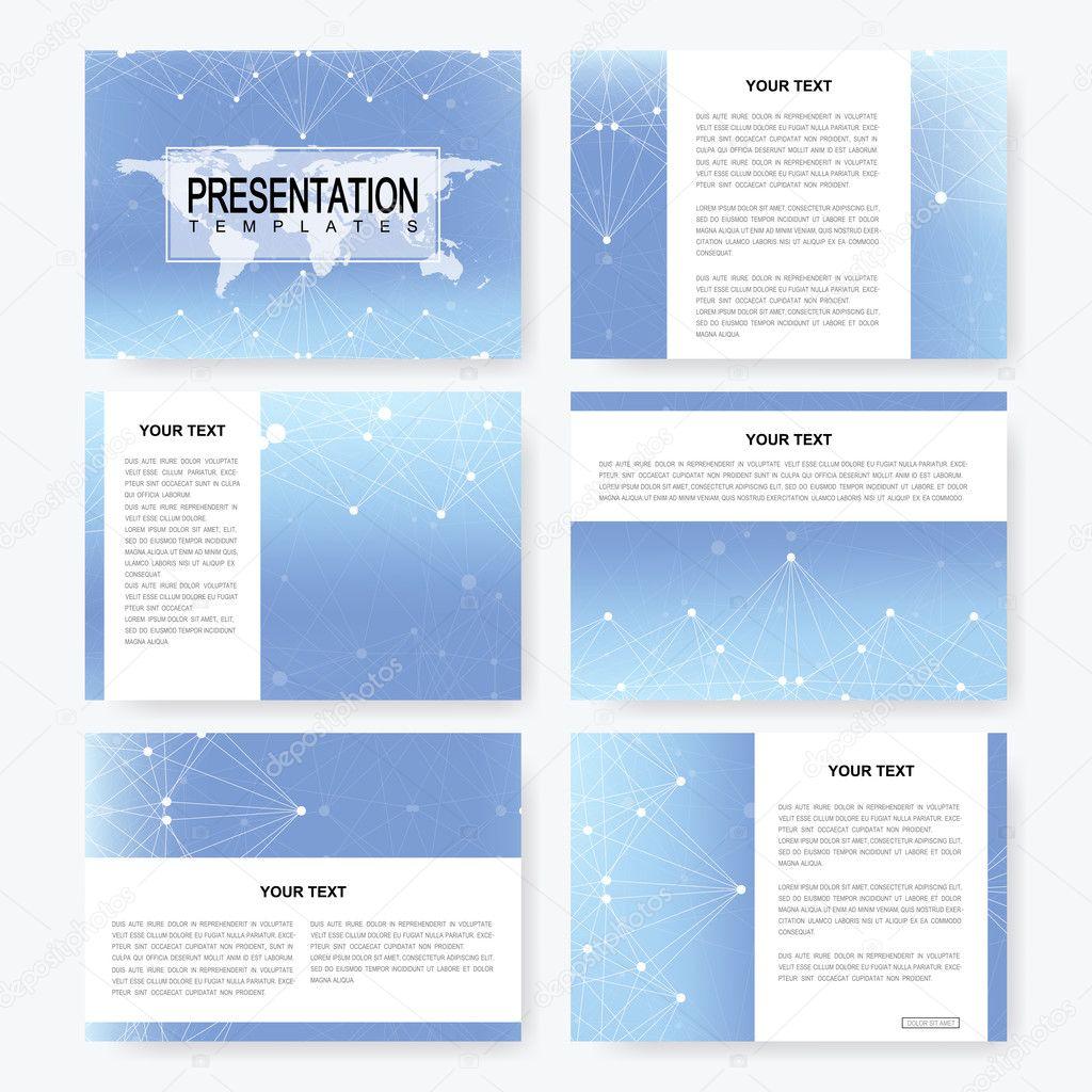 Современные шаблоны деловых презентаций