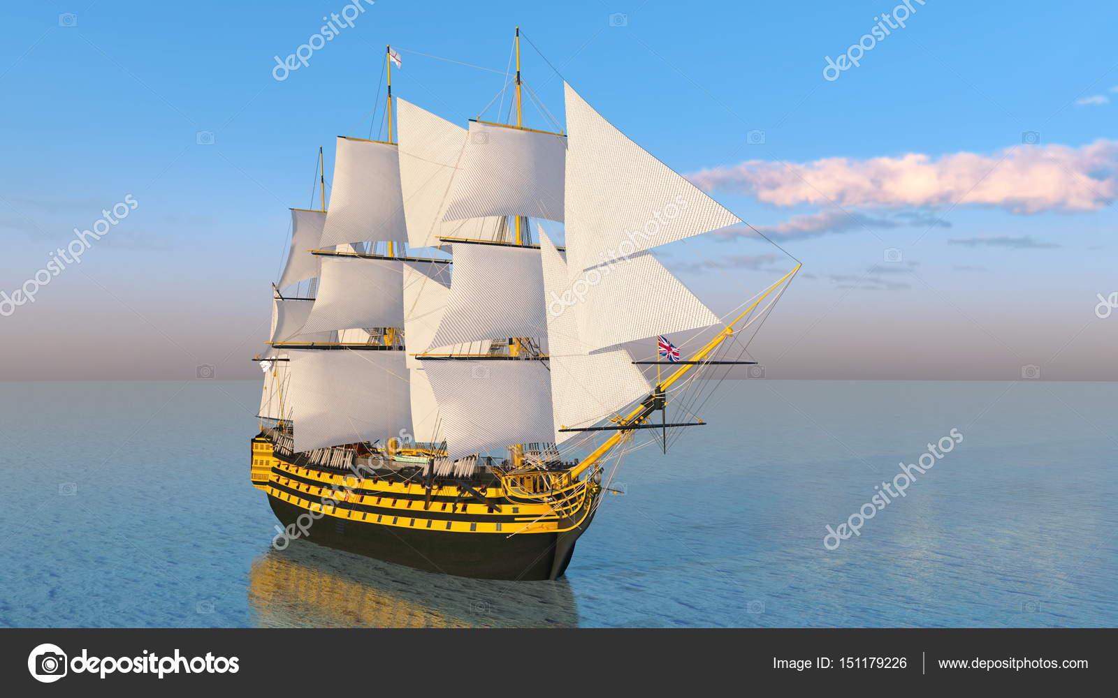4像帆船卡通图片