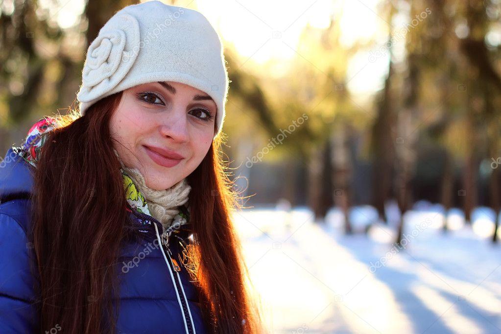 Девушки зимой картинки