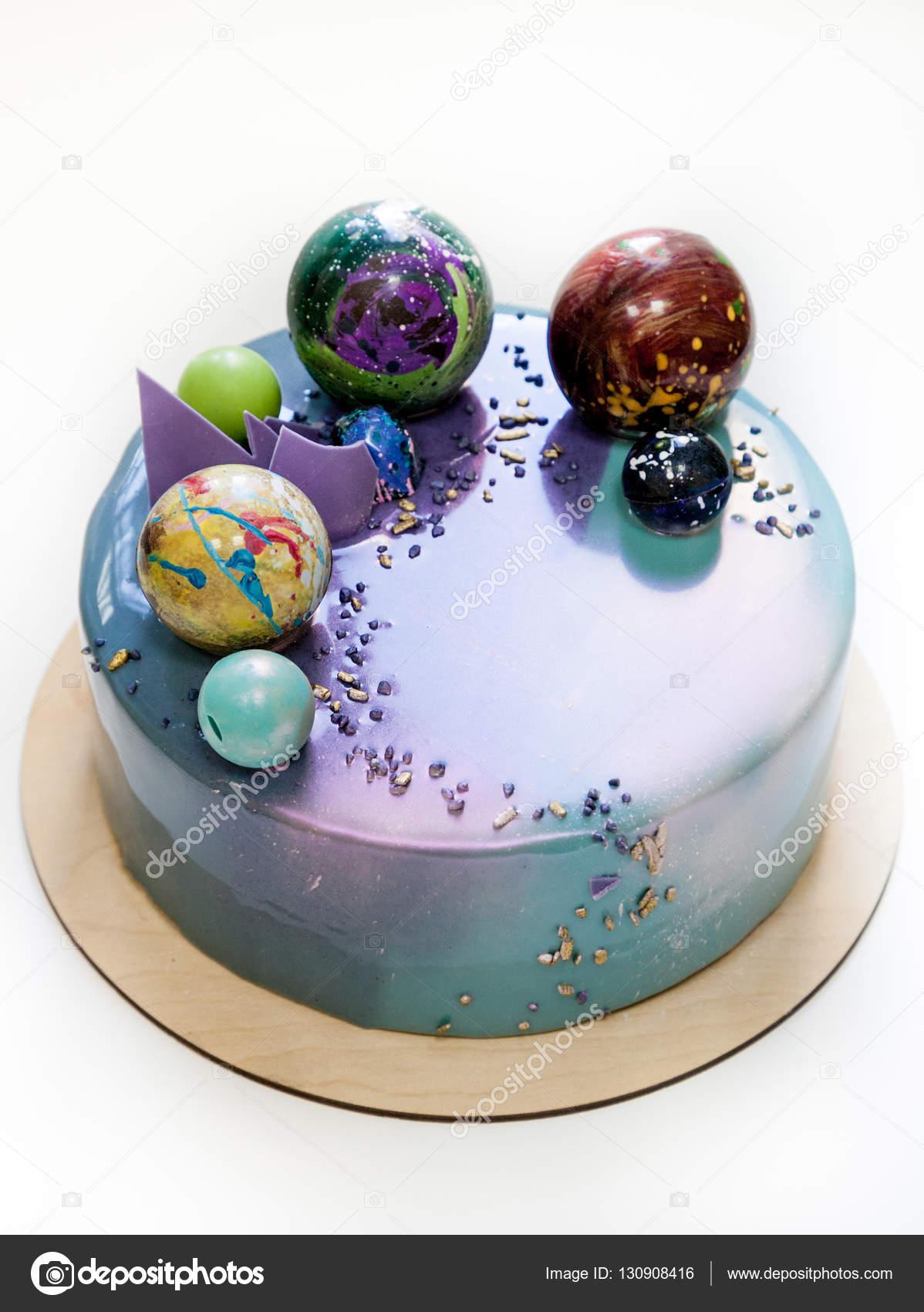Inches Chocolate Glaze Cake