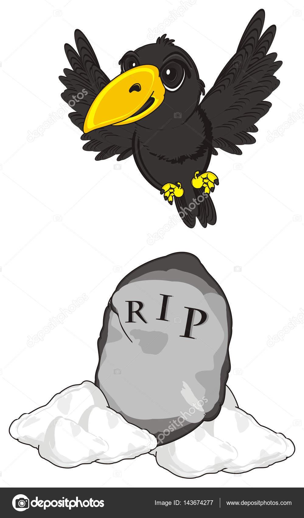 可爱的黑乌鸦 — 图库照片08tatty77tatty#143674277