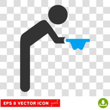 Child Beggar Vector Eps Icon