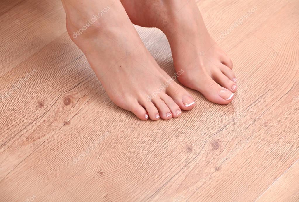 Фото красивых женских ступней крупным планом