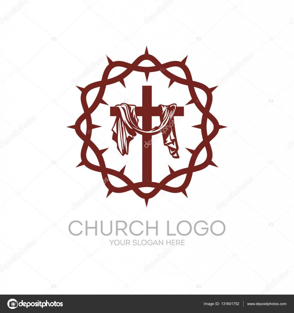 logotipo de la iglesia s u00edmbolos cristianos corona de crown vector image crown vector free
