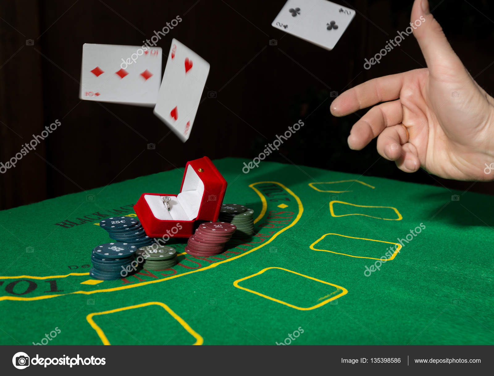 Poker table background - Casino Chips And A Precious Ring On A Green Poker Table Background Man Throws Cards With Losing Combination Photo By Sandy Che Yandex Ru