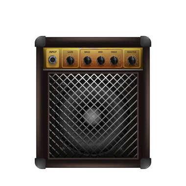 Guitar combo amplifier