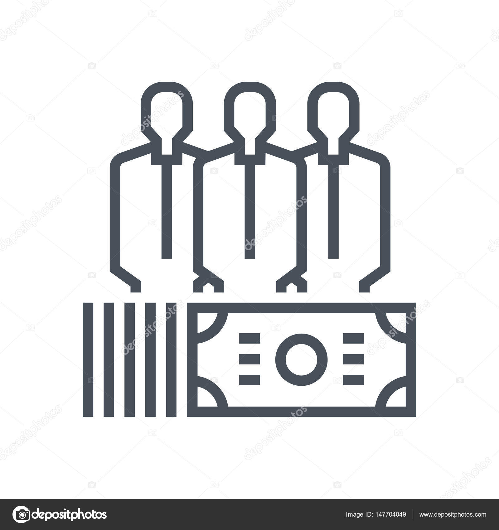 employee salary icon stock vector copy howcolour  employee salary icon suitable for info graphics websites and print media and interfaces line vector icon vector by howcolour