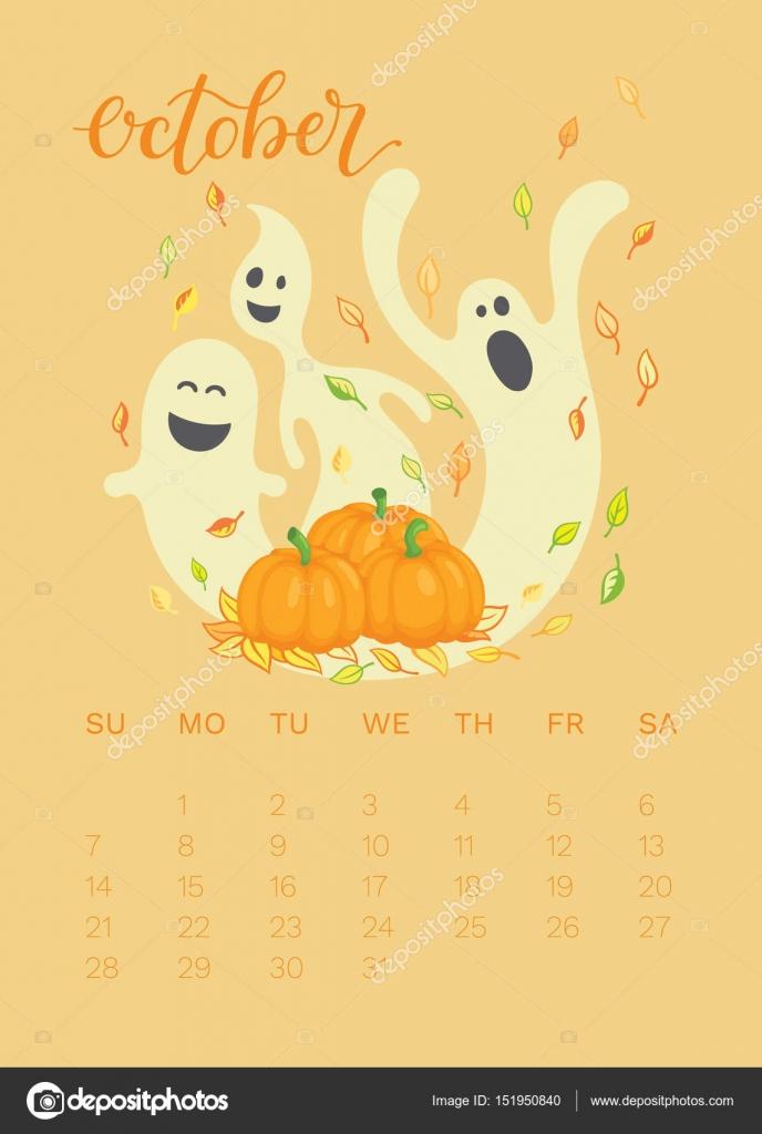 10 月 2018年日历