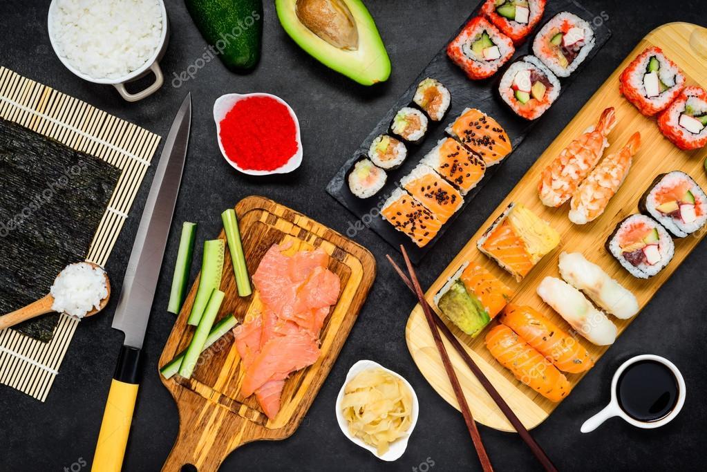 sushi borstvoeding
