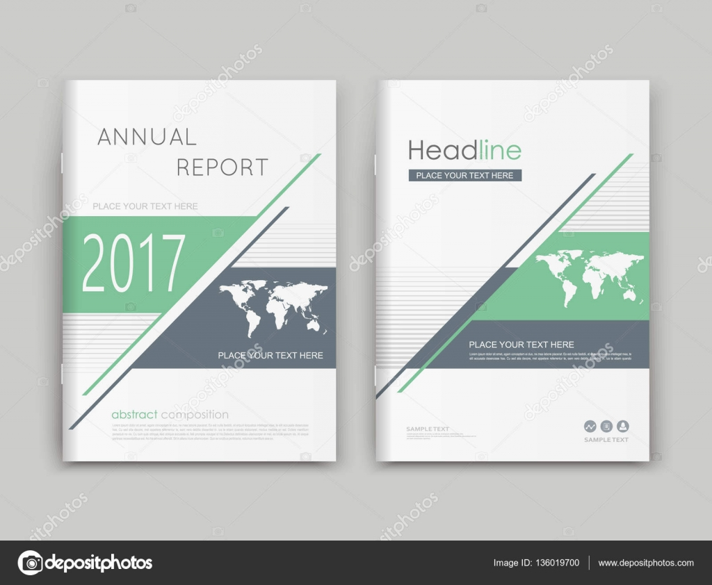 a brochure cover design ad frame font title sheet model title sheet model creative vector front page art abstract flyer set banner texture green lines geometric shapes icon world map financial project