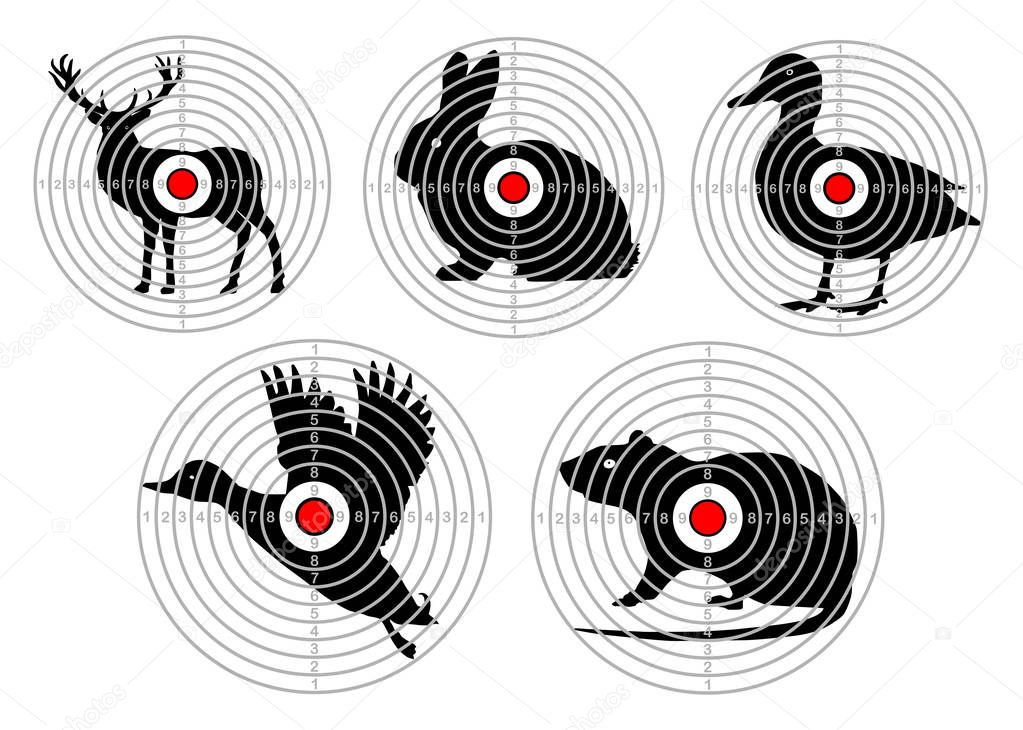 Shooting targets a4