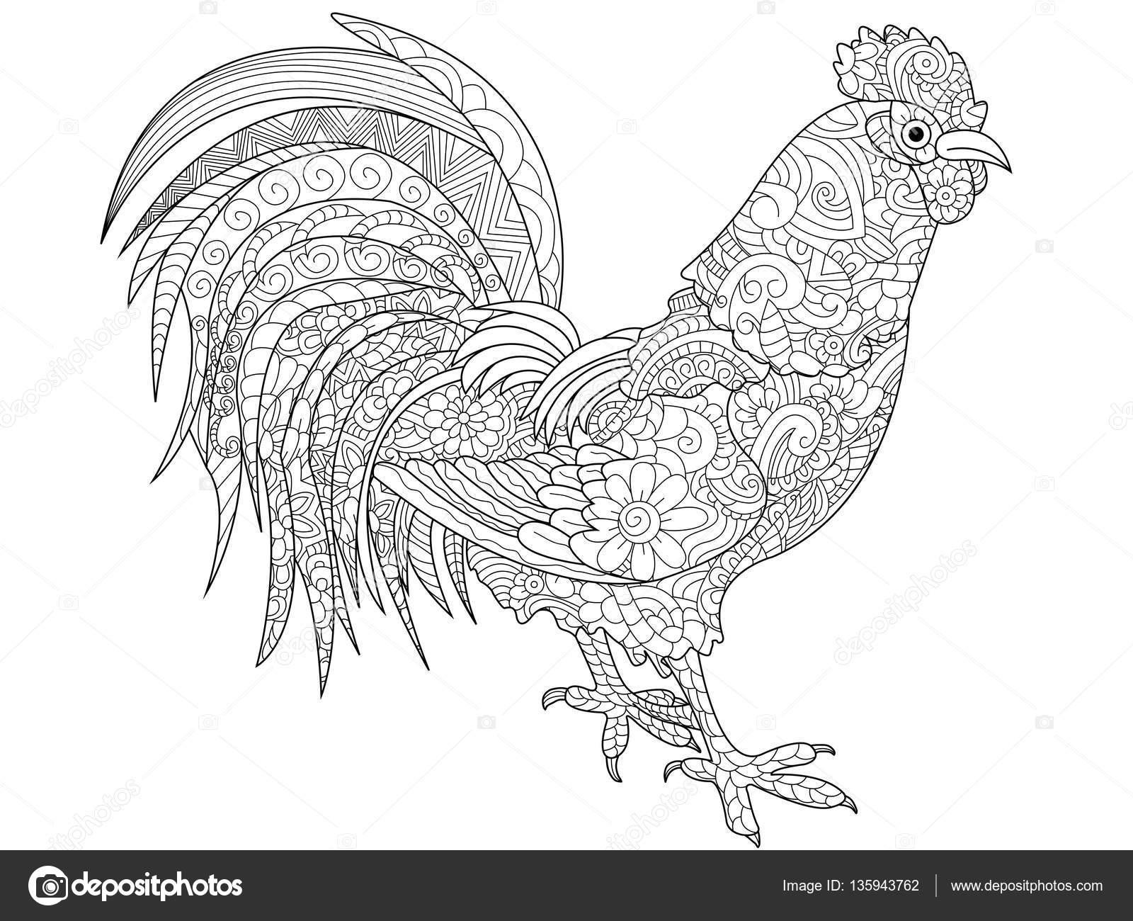 de tekening van de vogel vector illustratie illustratie