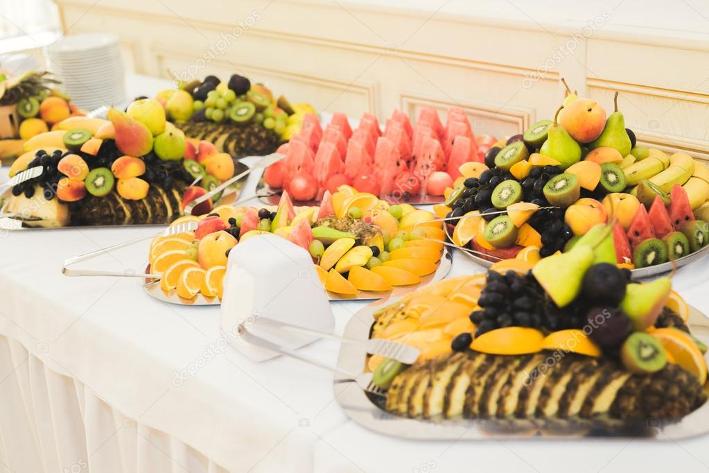 authentic buffet assorted fresh fruits berries and citrus preparation for design creative menu - Buffet Retro Cuisine