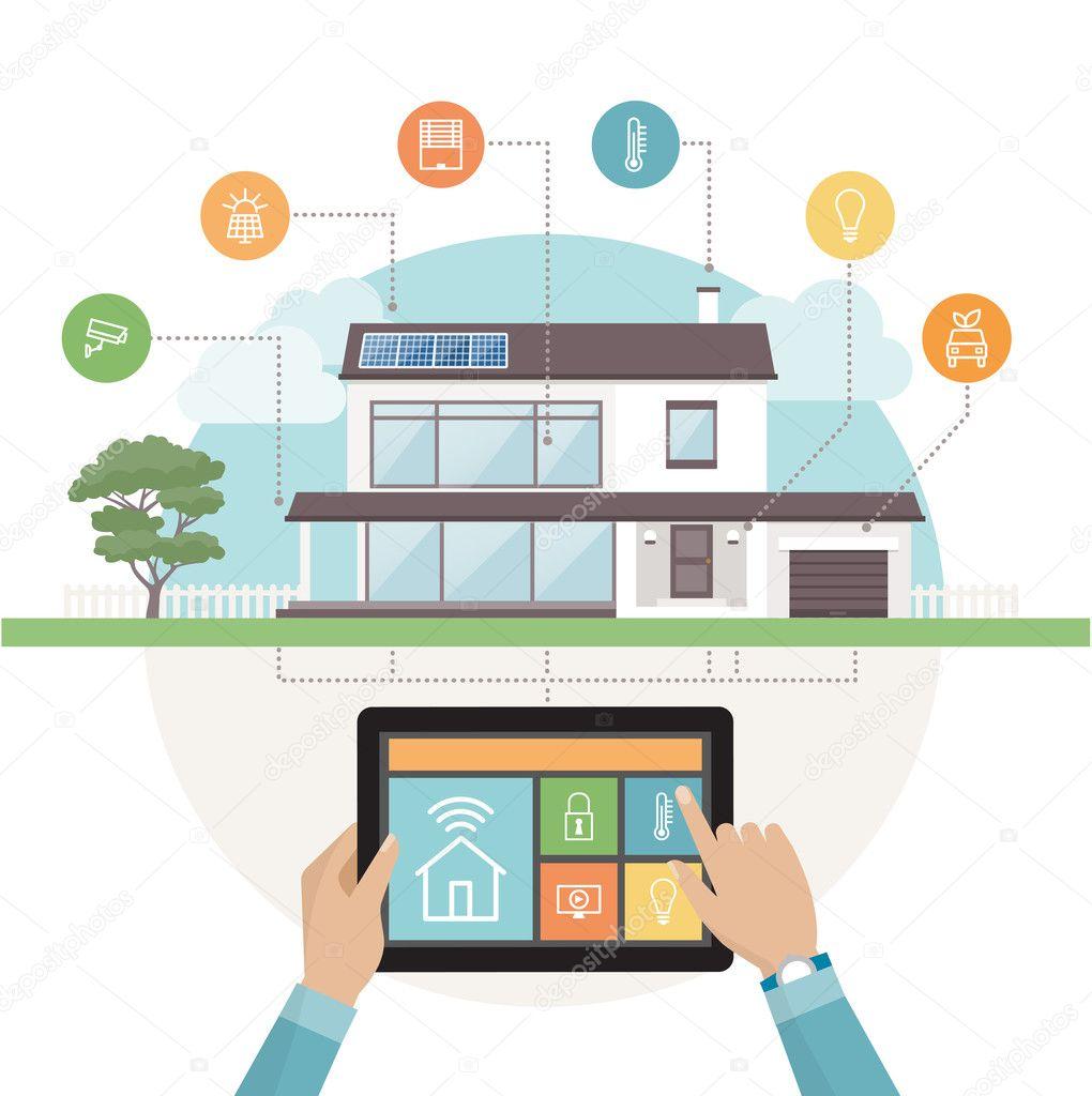 современная система умный дом ищите