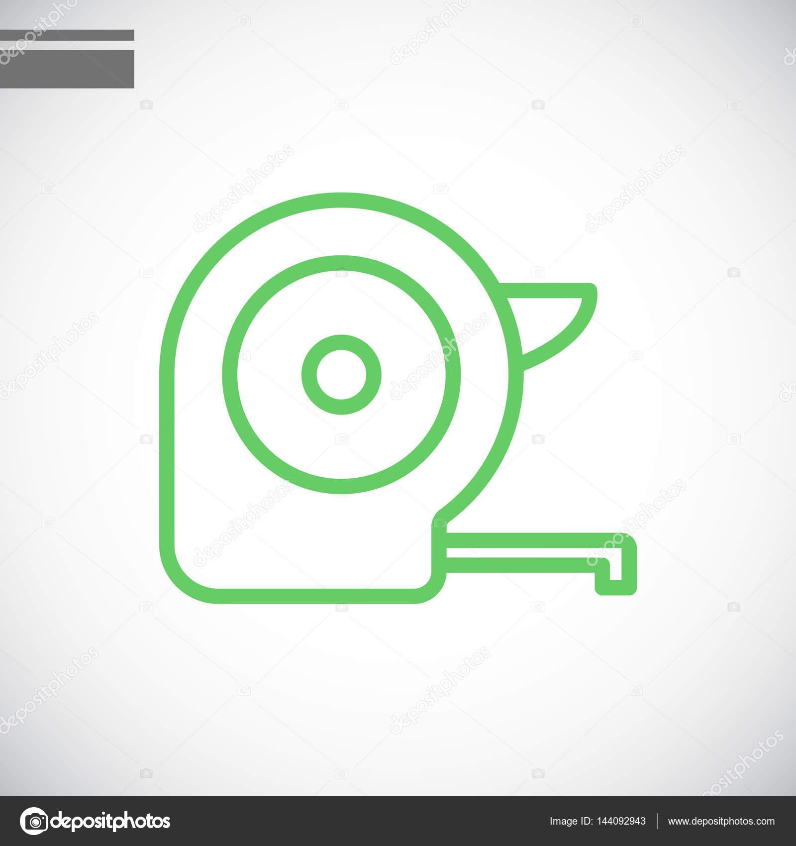 矢量图的轮盘赌建设图标– 图库插图