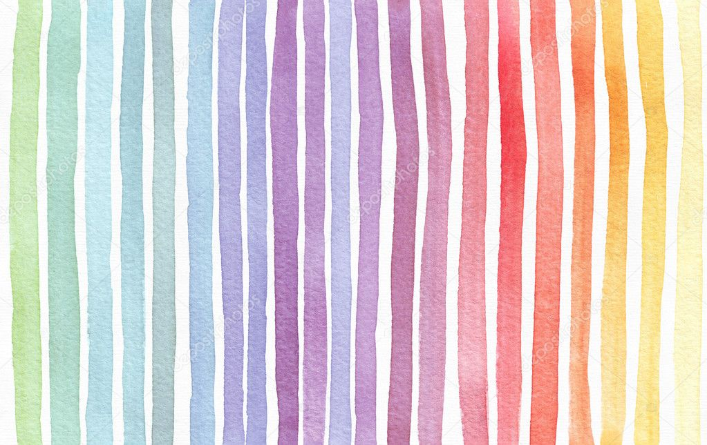 Gradient splattered rainbow background, hand drawn with ...