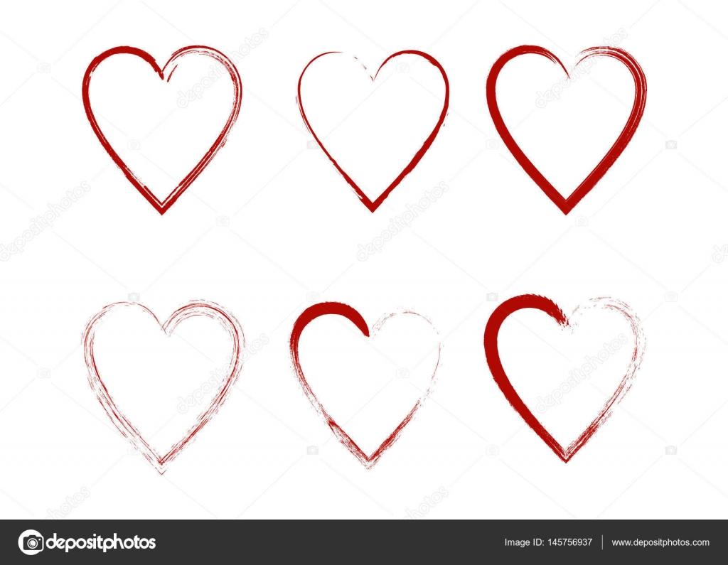 爱情符号的心形状设计 — 图库矢量图片#145756937