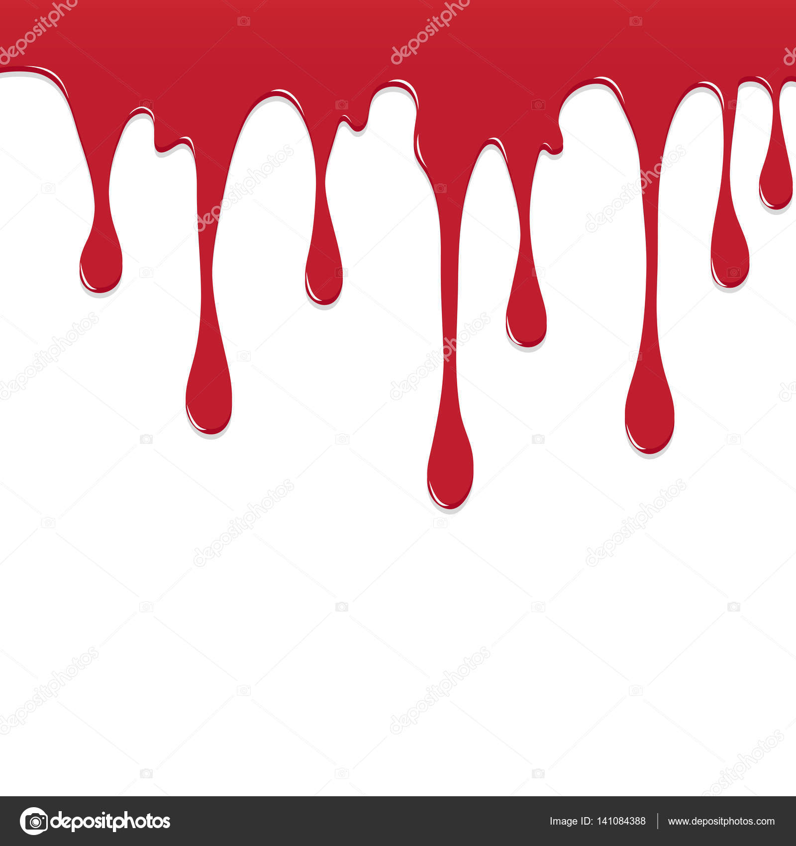 dripping blood clipart border free - photo #16