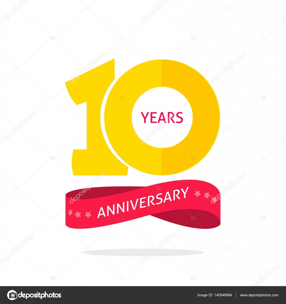 Years anniversary logo template th icon