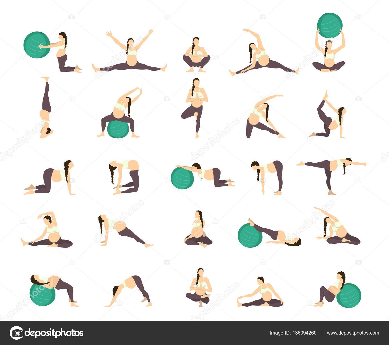 Гимнастика для беременных 2 триместр дома 7