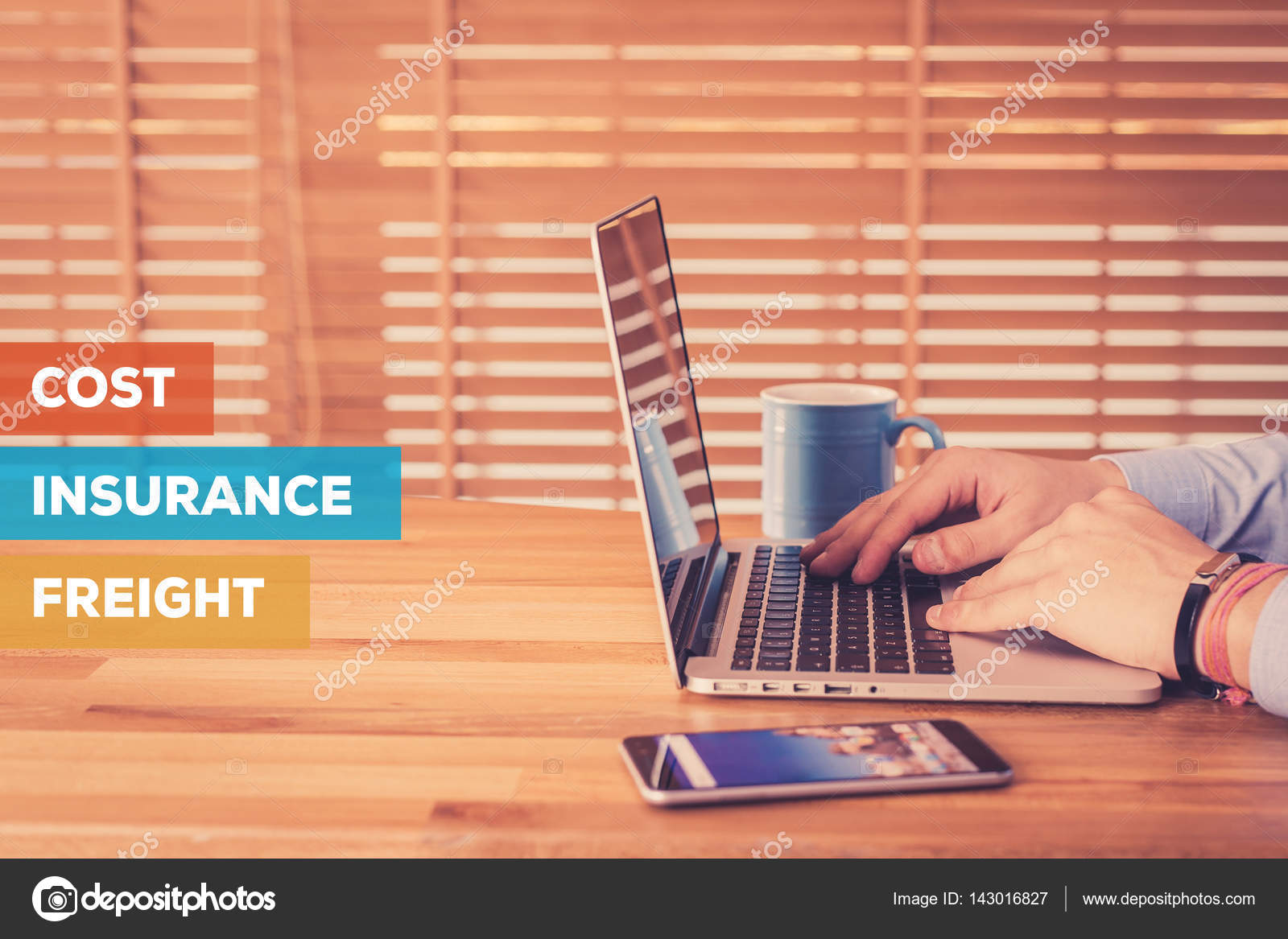 COST INSURANCE FREIGHT CONCEPT — Stock Photo © garagestock ...