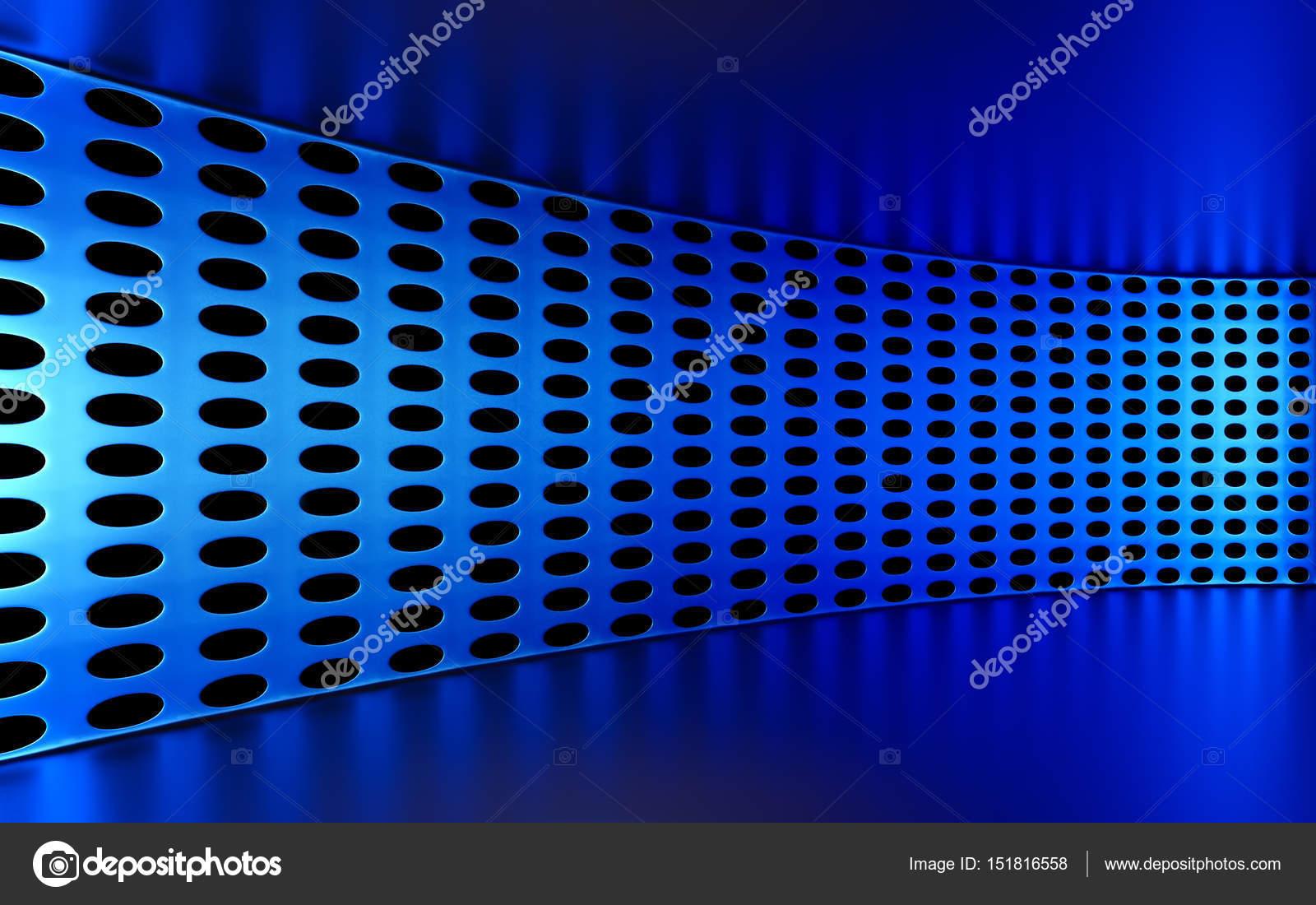 抽象, 3d, 几何的蓝色背景.白色的质地,带阴影.3d 渲染