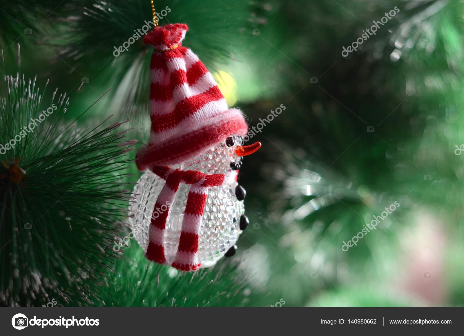 Снеговик игрушка на елку 25