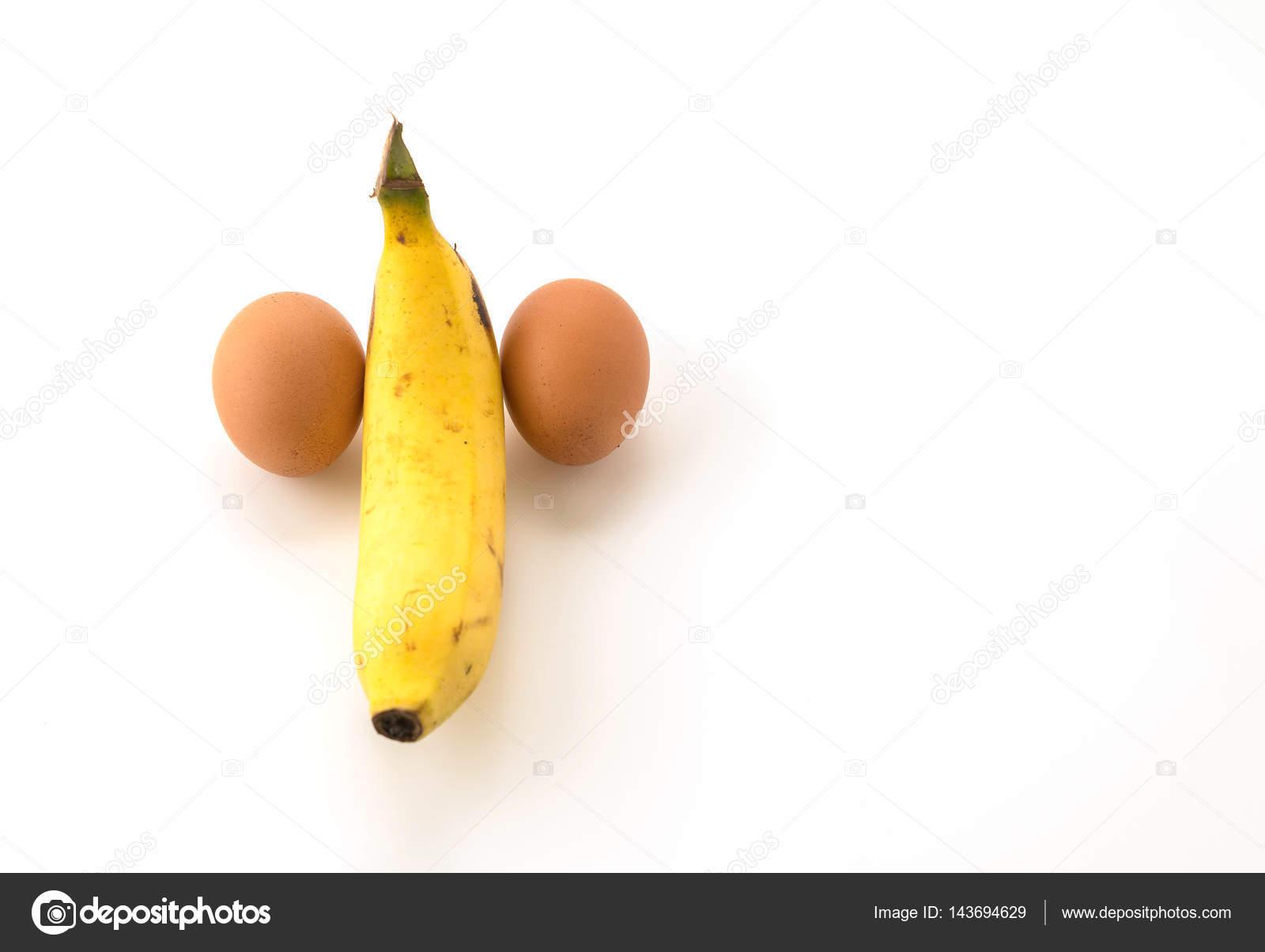 Как сделать банан с яйцом 581