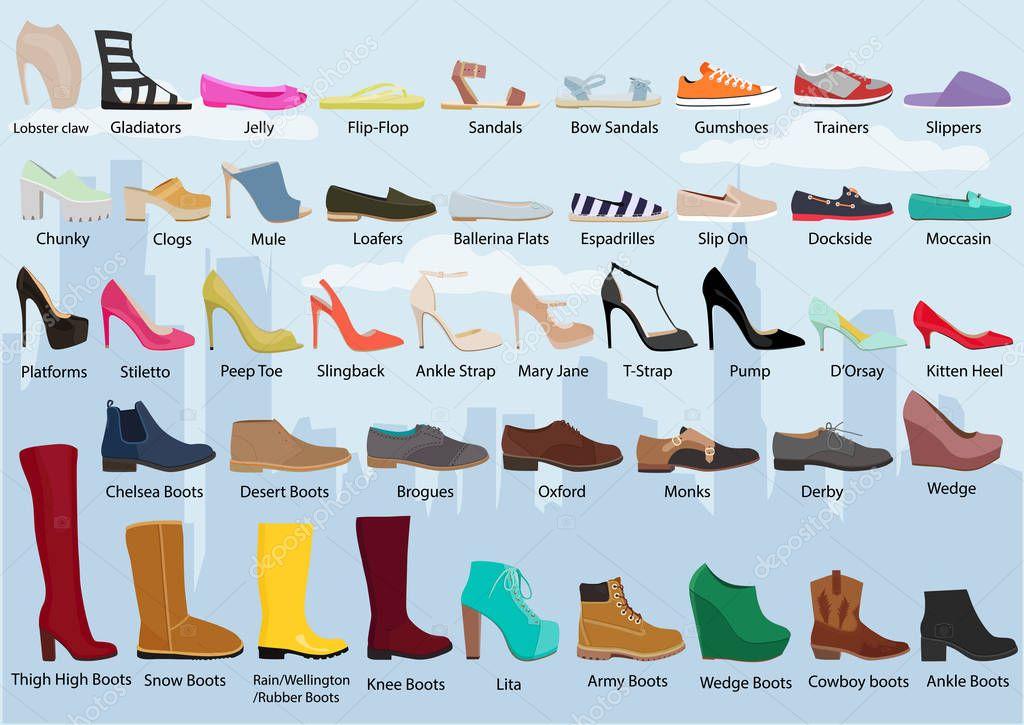 Womens Shoe Types