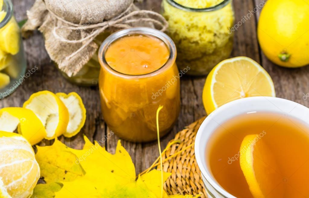 Как сделать напиток с имбирем и лимоном  308
