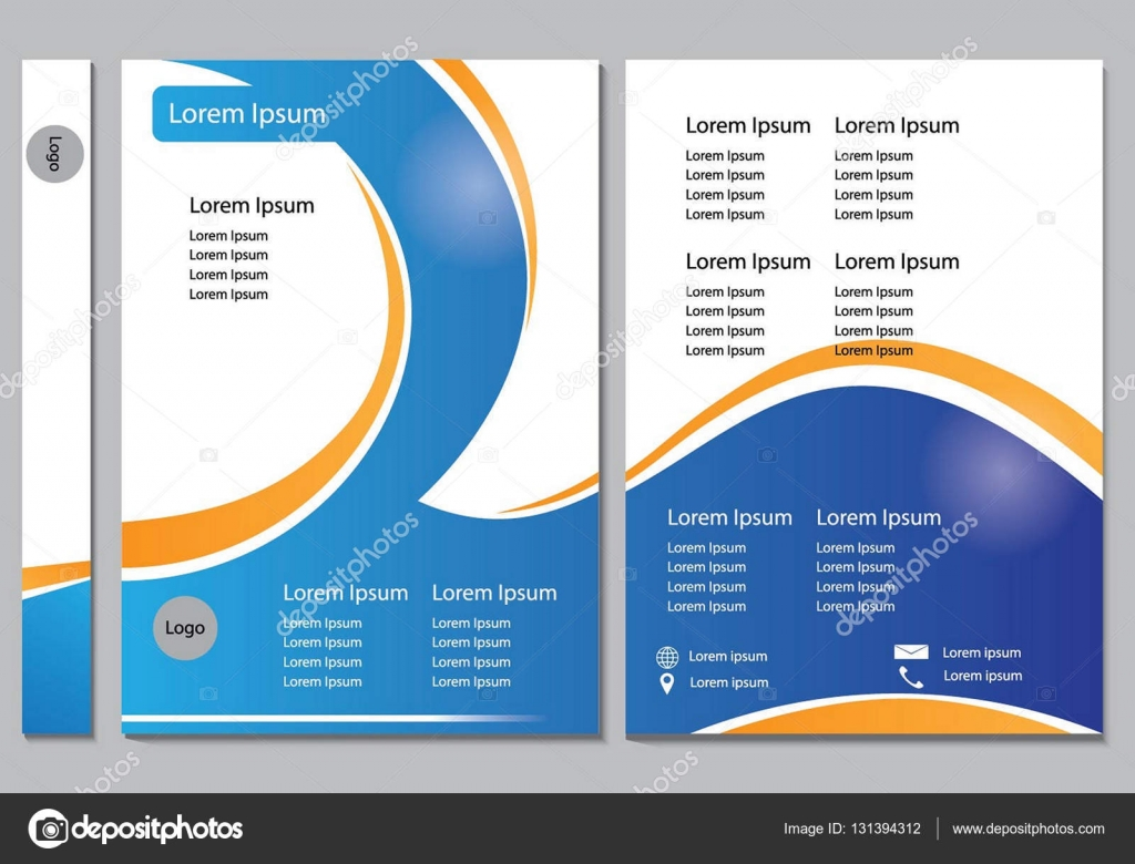 brochure design template vector flyers report business brochure design template vector flyers report business infographic magazine poster abstract blue and orange line layout template