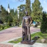 Постер, плакат: Monument to Vladimir Vysotsky in Sochi Russia