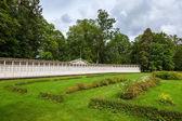 Letní domy z rehabilitačního centra v Krimulda manor, Sigulda, Lotyšsko