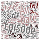 Frasier Season 2 DVD Review text background wordcloud concept