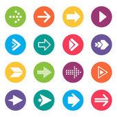 Prvky návrhu ikony šipka