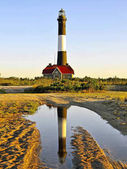 Fire Island Lighthouse Reflection