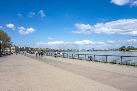 menschen, gehender, bei, the, promenade, von - B149305036