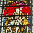 Постер, плакат: King Edward Vi Stained Glass Westminster Abbey London England